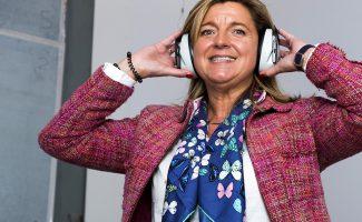 Ana Espinel, directora general de Audiotec - Foto: Jesús Umbría