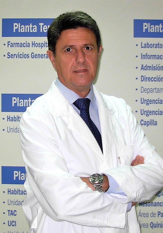 Doctor Antonio Abrante Jiménez, Jefe de Otorrrinolaringología Hospital Quirónsalud Sagrado Corazón