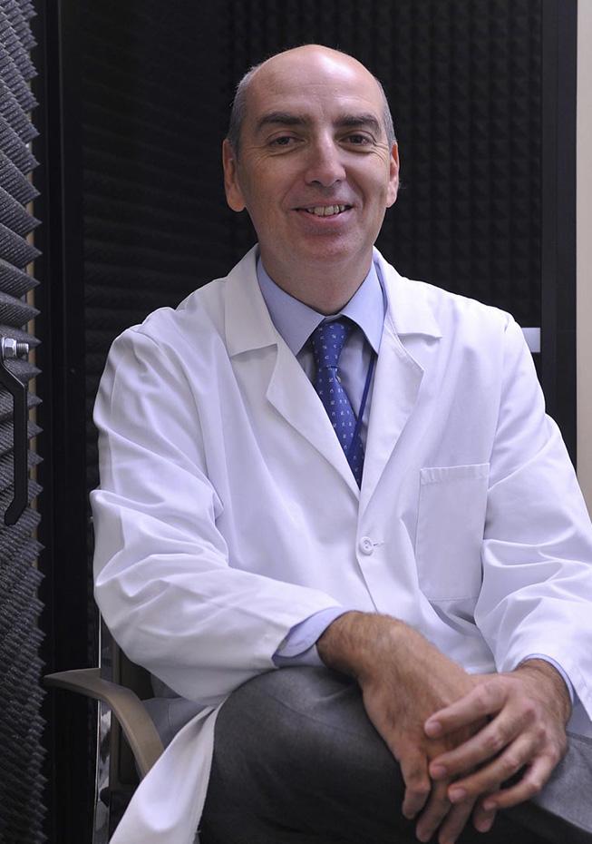 Doctor Carlos Ruiz Escuderos, Jefe de Otorrinolaringología Hospital Quirónsalud Madrid