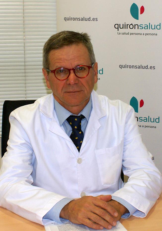 Doctor Gonzalo Pin Arboledas, Jefe de la Unidad del Sueño del Hospital Quirónsalud Valencia