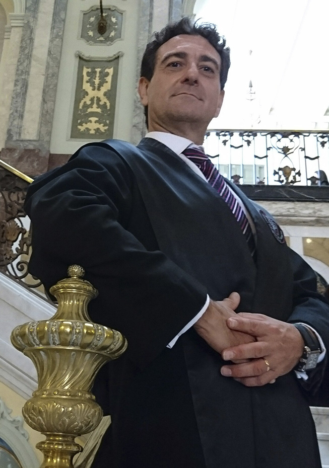 Ricardo Ayala, abogado especialista en contaminación acústica