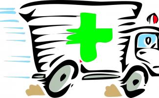 Ambulancia, sirena, ruido