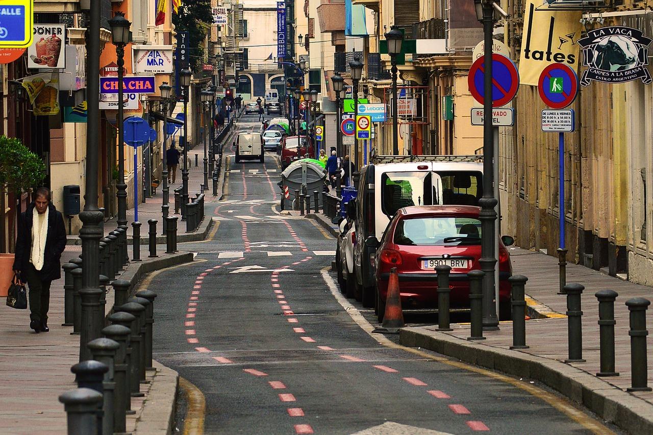 Alicante aprende del ruido - tráfico