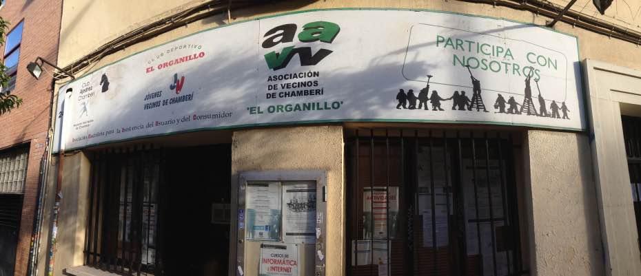 AAVV El Organillo, Chamberí, conRderuido.com, ruido, turistas, turistificación