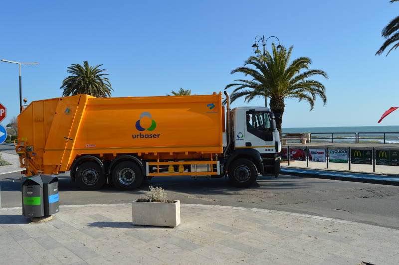 Urbaser, recogida de residuos urbanos, conRderuido.com, camión, ruido, Juristas contra el ruido